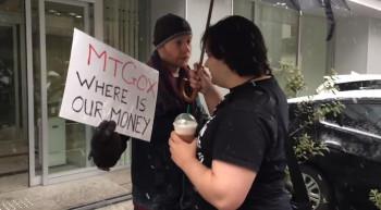 Mt Gox protest