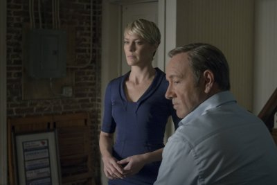 Kevin Spacey Francis Underwood and Robin Wright Claire Underwood