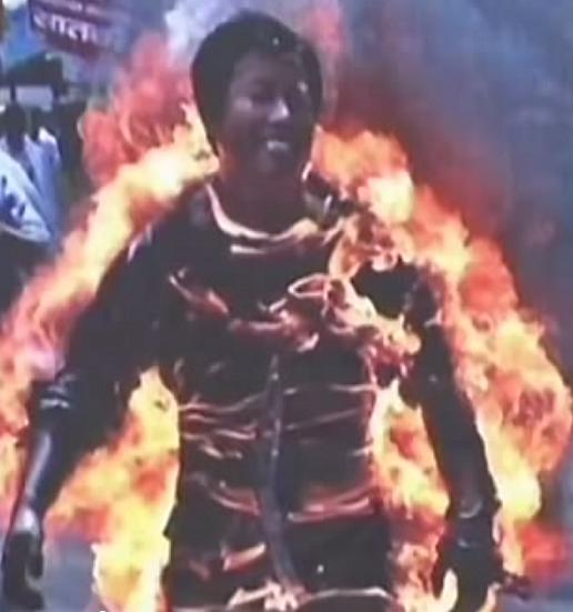 Tibet self-immolation