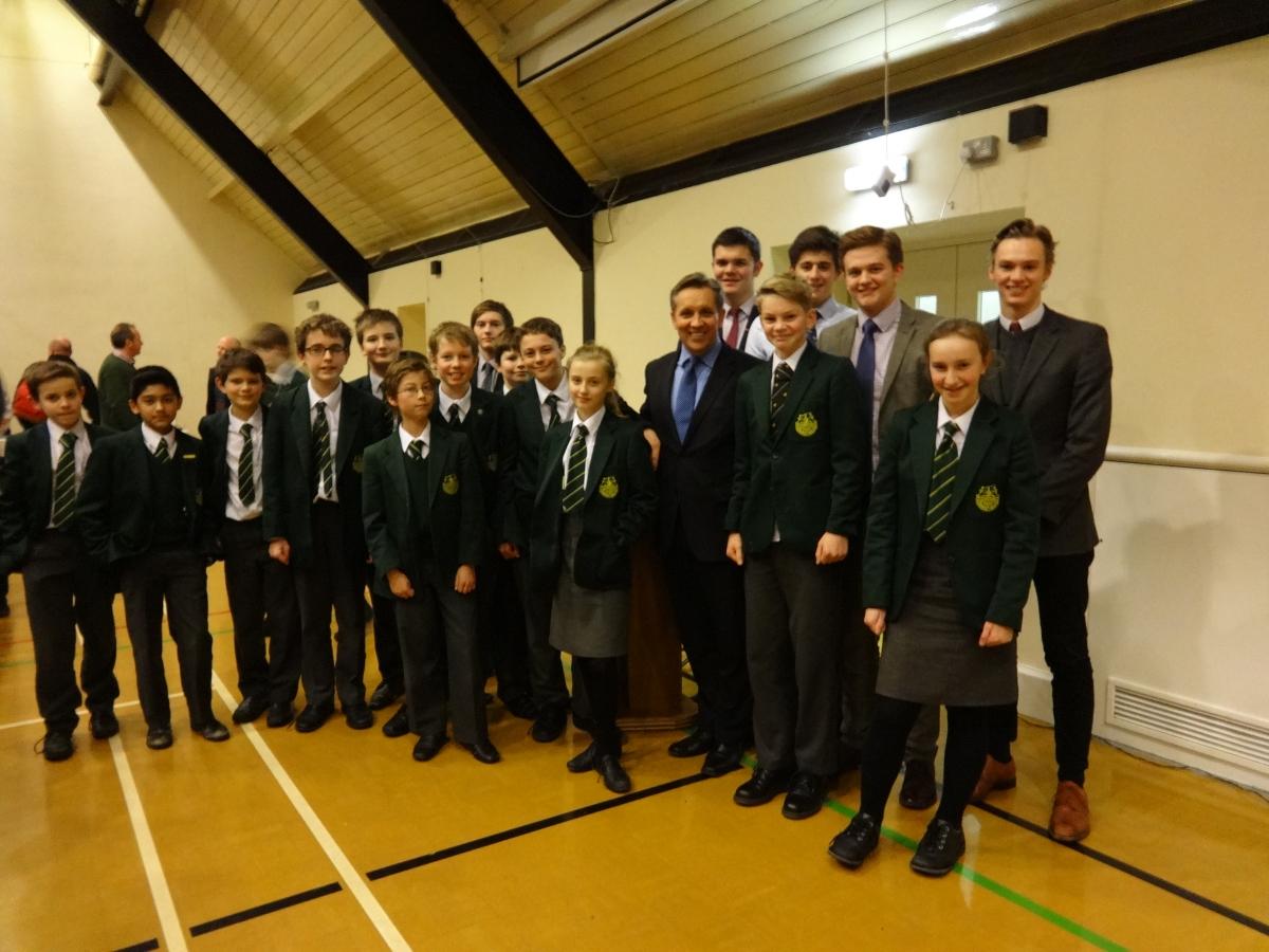 Sainbury's Justin King talks to IBTimes UK at an Insight Talk event at Gordon's School, Surrey