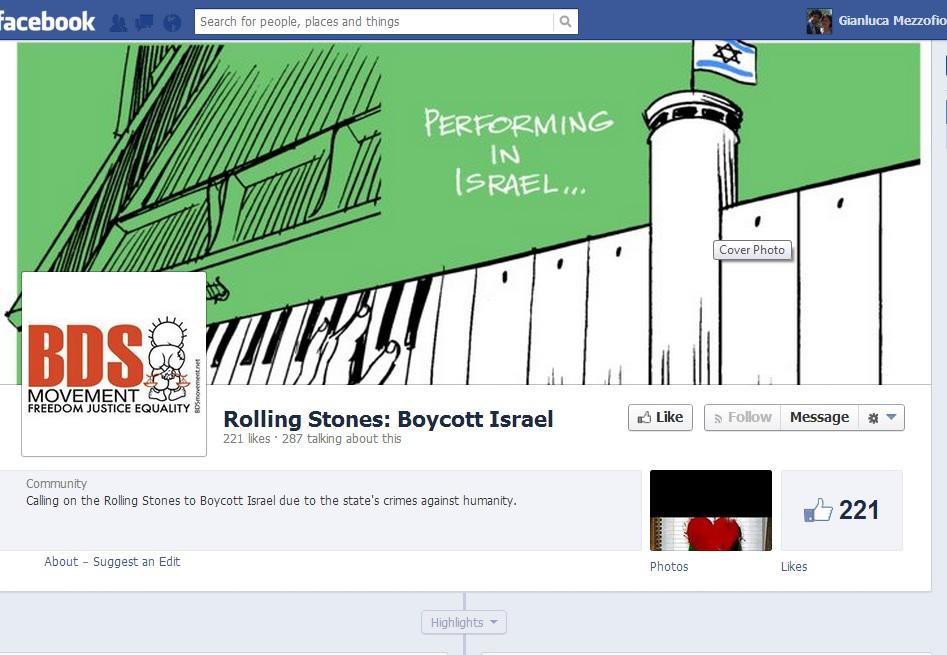 Rolling Stones Boycott
