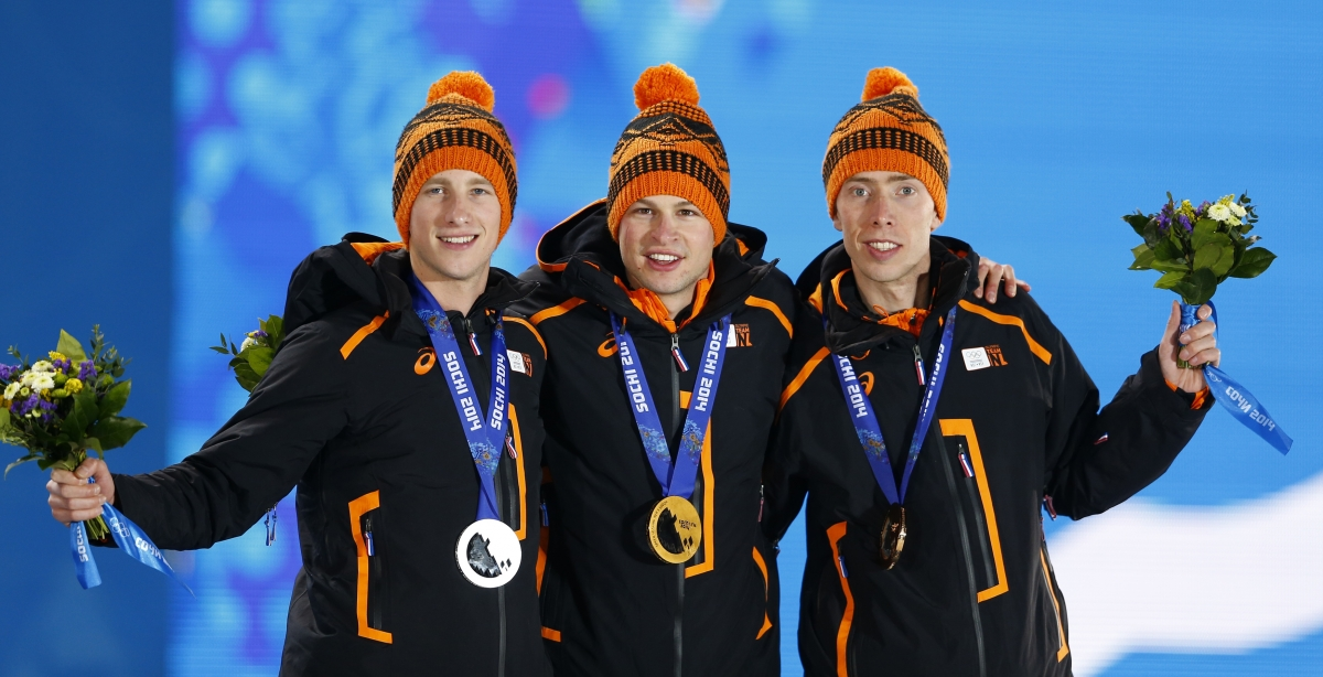 Netherlands speed skaters