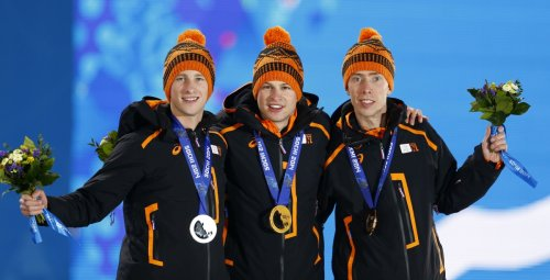 Netherlands speed skaters