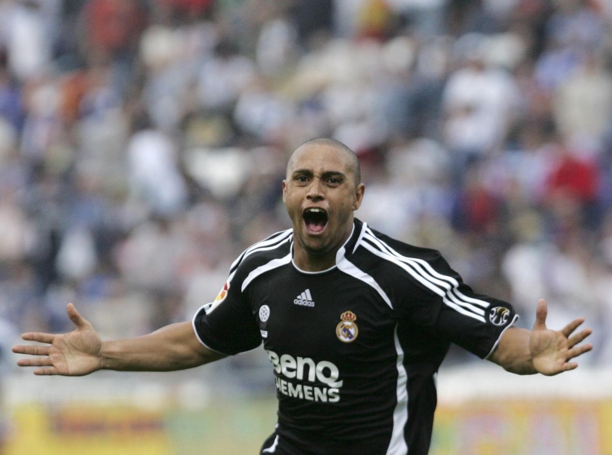 Real Madrid Roberto Carlos La Liga Birmingham Championship England Left Back Brazil