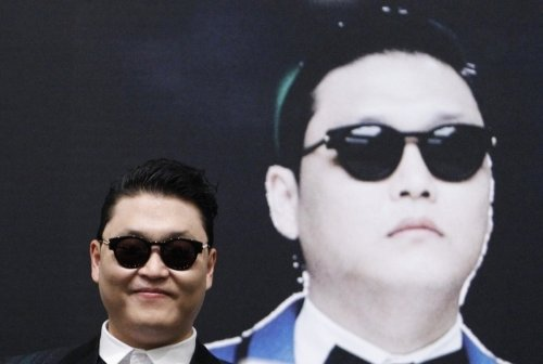 PSY: All over YouTube