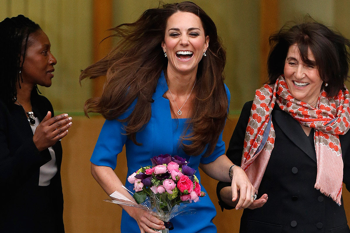 In January, Kate Middleton's tresses topped a poll for Britain's most wanted hairstyle