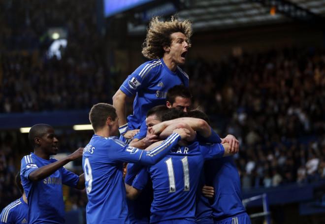 David Luiz Chelsea Football Stamford Bridge PSG Paris