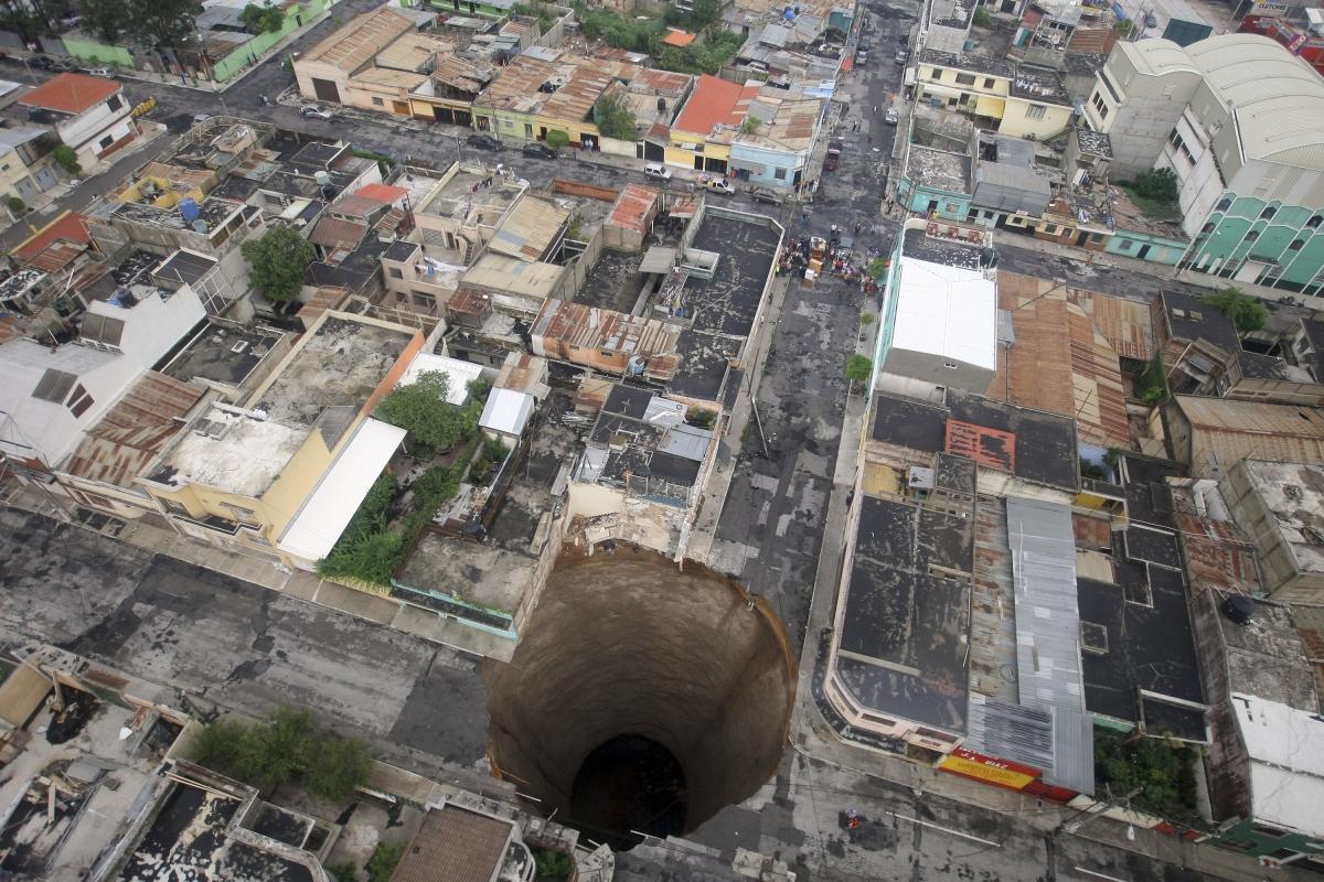 Guatemala City sinkhole