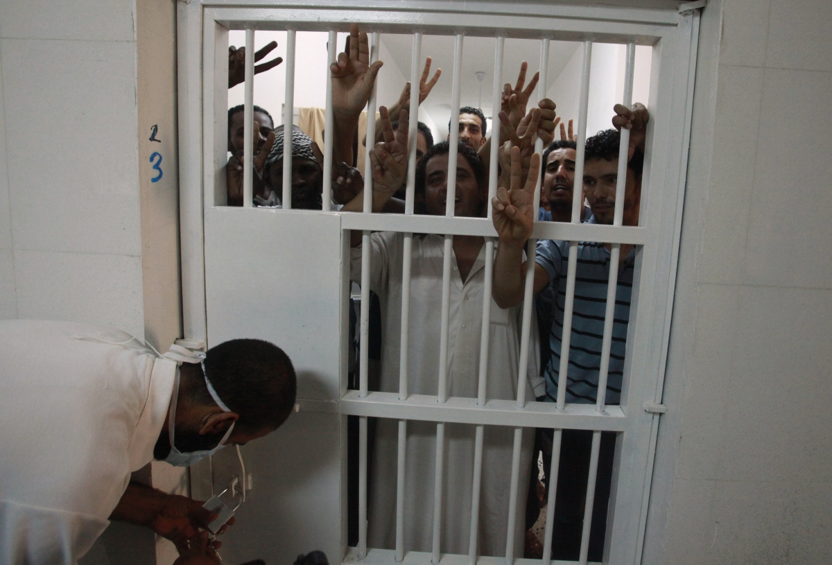 Libyan prisons have experienced frequent jailbreaks due to poor security and shortage of guards