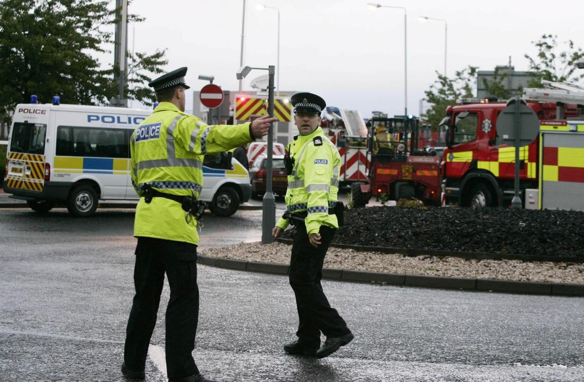 Car Crash Brynmawr