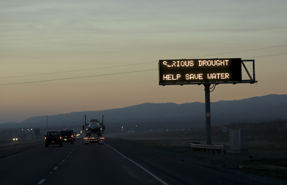 California is experiencing its worst drought in more than 100 years