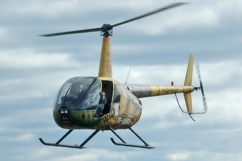 Robinson R44 helicopter