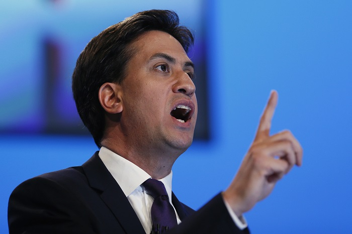 Labour leader Ed Miliband warns that climate change is now an urgent issue of national security.