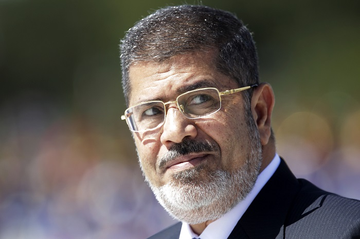 Mohamed Morsi is on trial facing a host of charges including conspiring to commit acts of terror in Egypt.