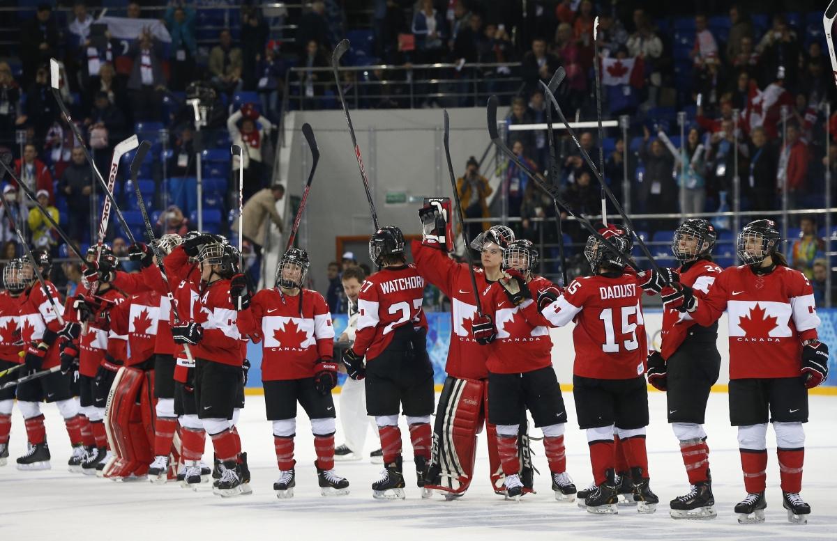 Sochi 2014 Women S Ice Hockey Semi Final Canada V