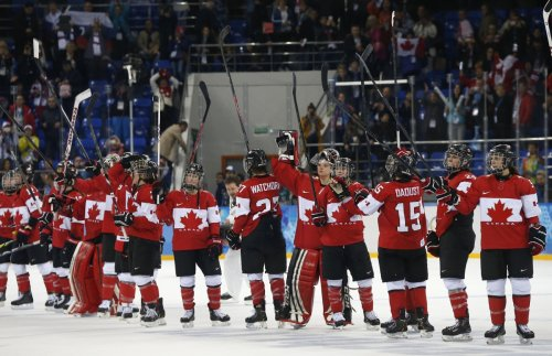 Canada Women's Ice Hockey team