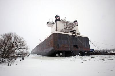 ship ice