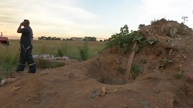 12 Illegal Miners Rescued in South Africa