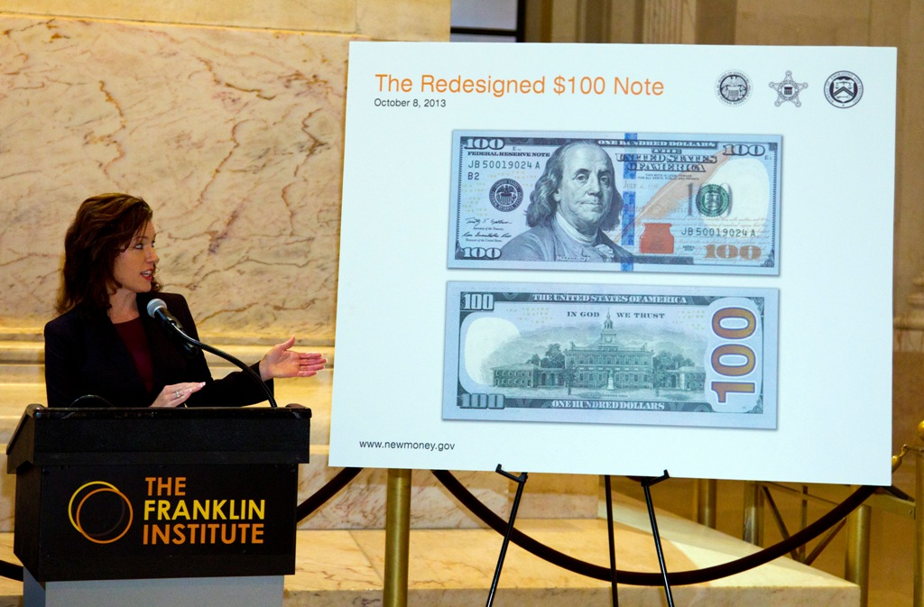 US 100-Dollar Bill