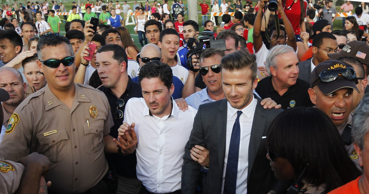 Ronaldo Beckham Miami MLS PSG Franchise Real Madrid