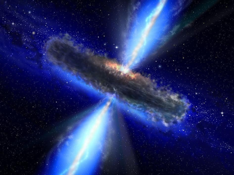 Quasar Drenched in Water Vapor