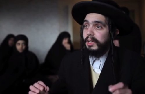 Nachman Helbrans, a member of the Jewish fundamentalist group, Lev Tahor, talks about the groups