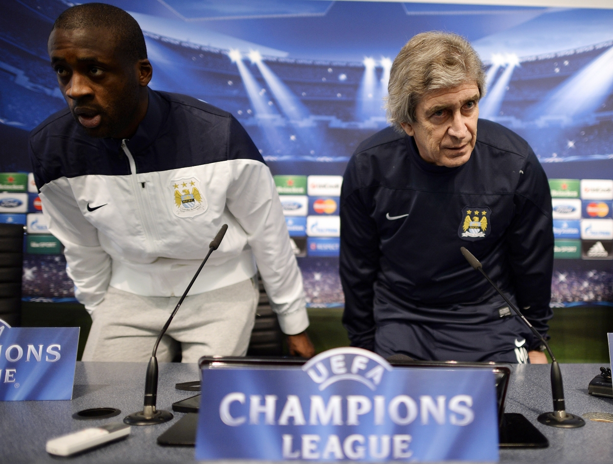 Man City Manchester United Better Pellegrini David Moyes Yaya Toure