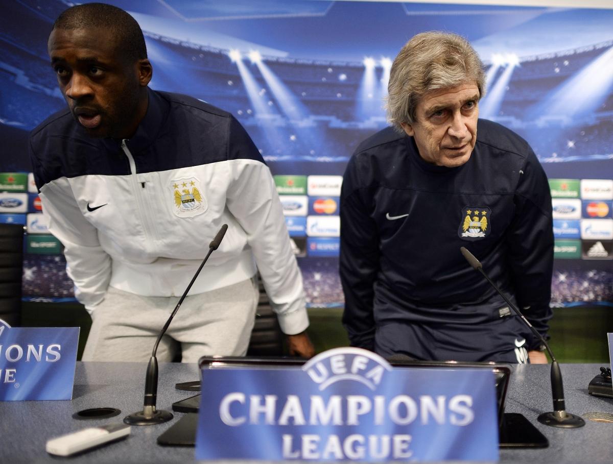 Man City Manchester United Better Pellegrini David Moyes Yaya Toure