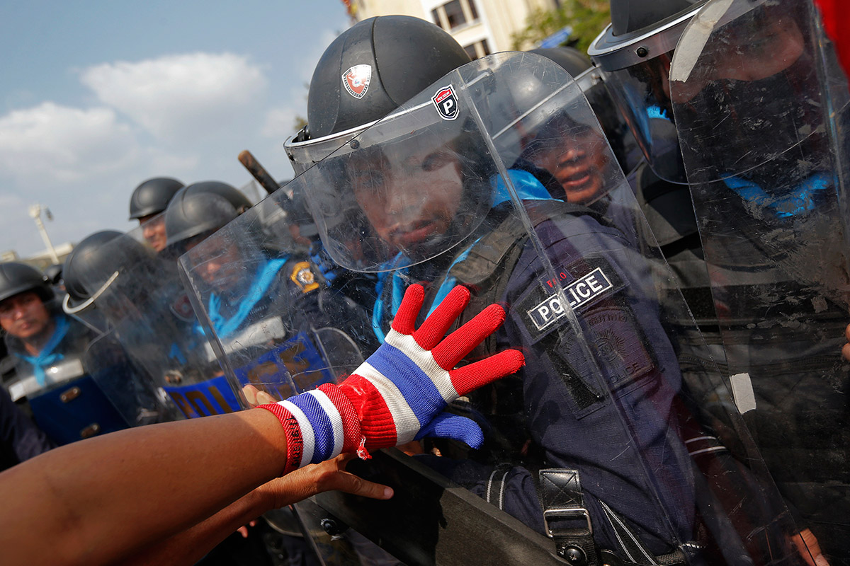 glove police