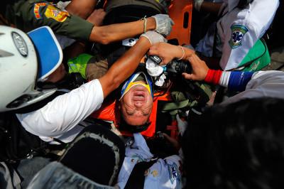 injured reporter