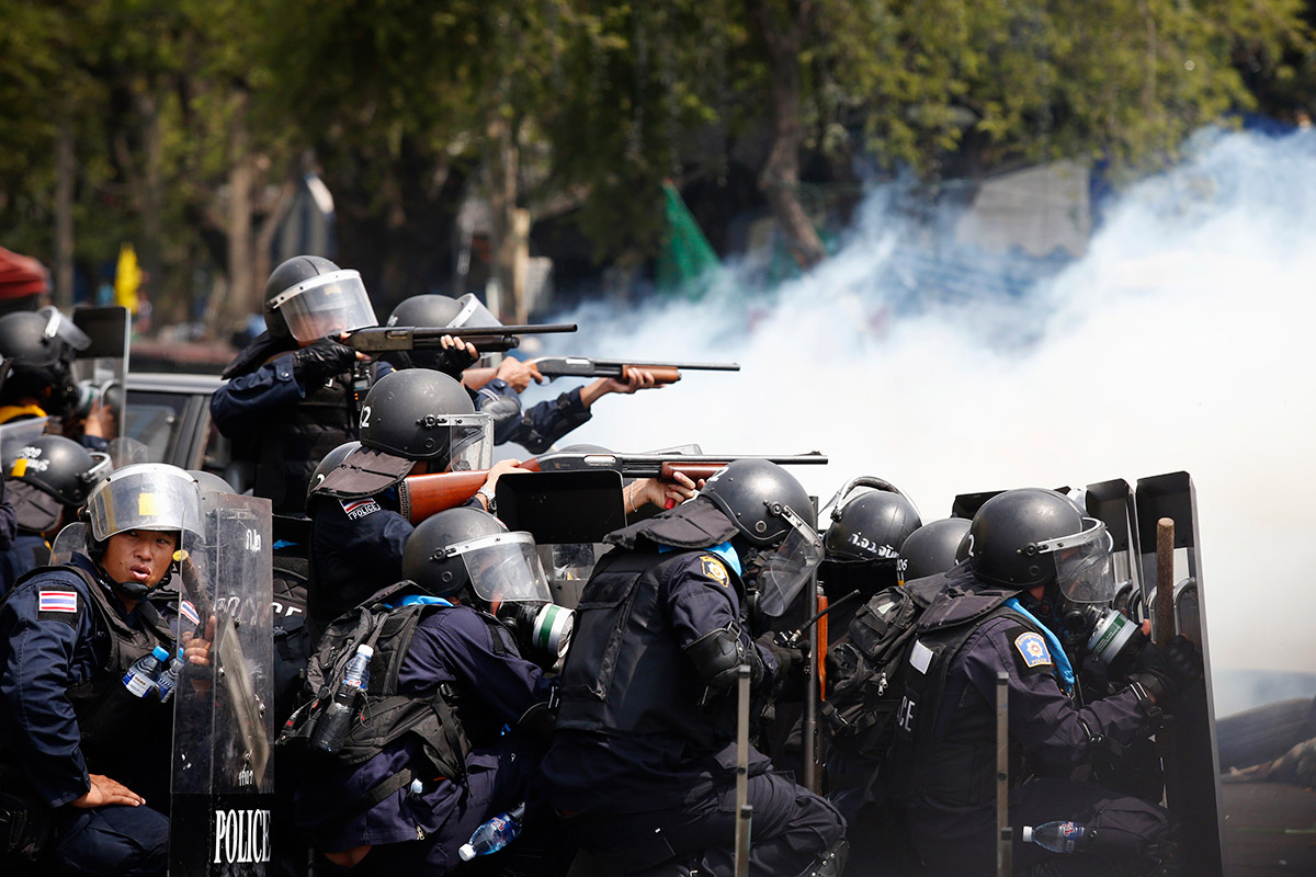 police fire