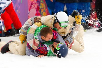 olympic celebration