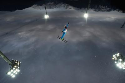 sochi skier