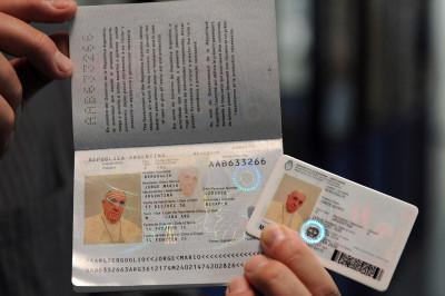 pope passport