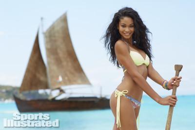 Chanel Iman was photographed in Madagascar by Derek Kettela