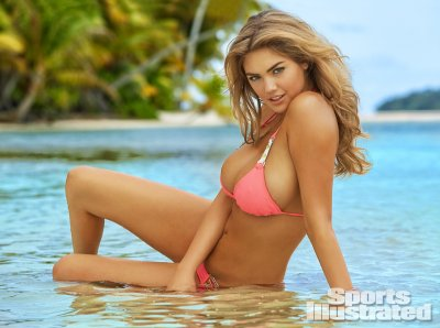 Kate Upton was photographed in Rarotonga, Cook Islands, by James Macari