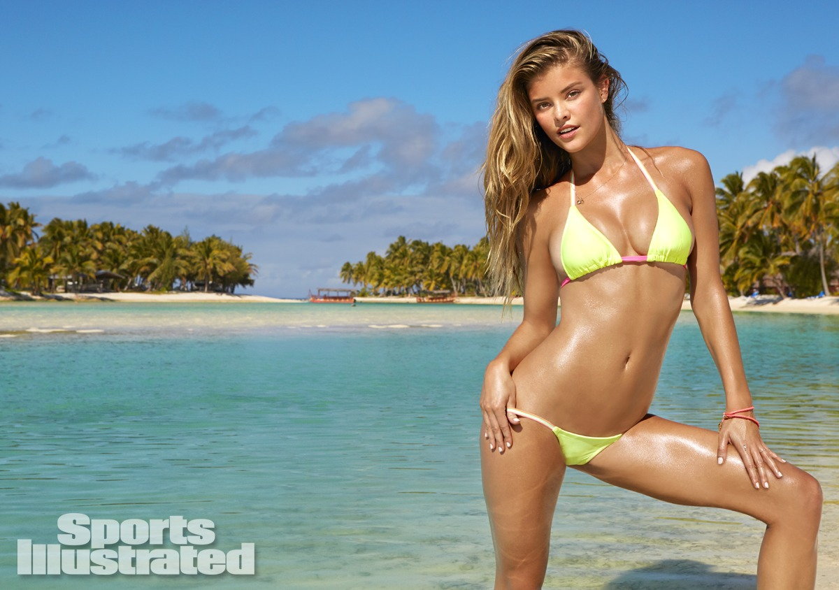 Nina Agdal was photographed in Rarotonga, Cook Islands, by James Macari