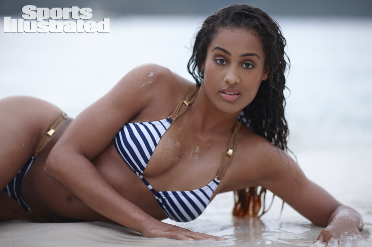 Skylar Diggins was photographed on Guana Island, British Virgin Islands, by Adam Franzino