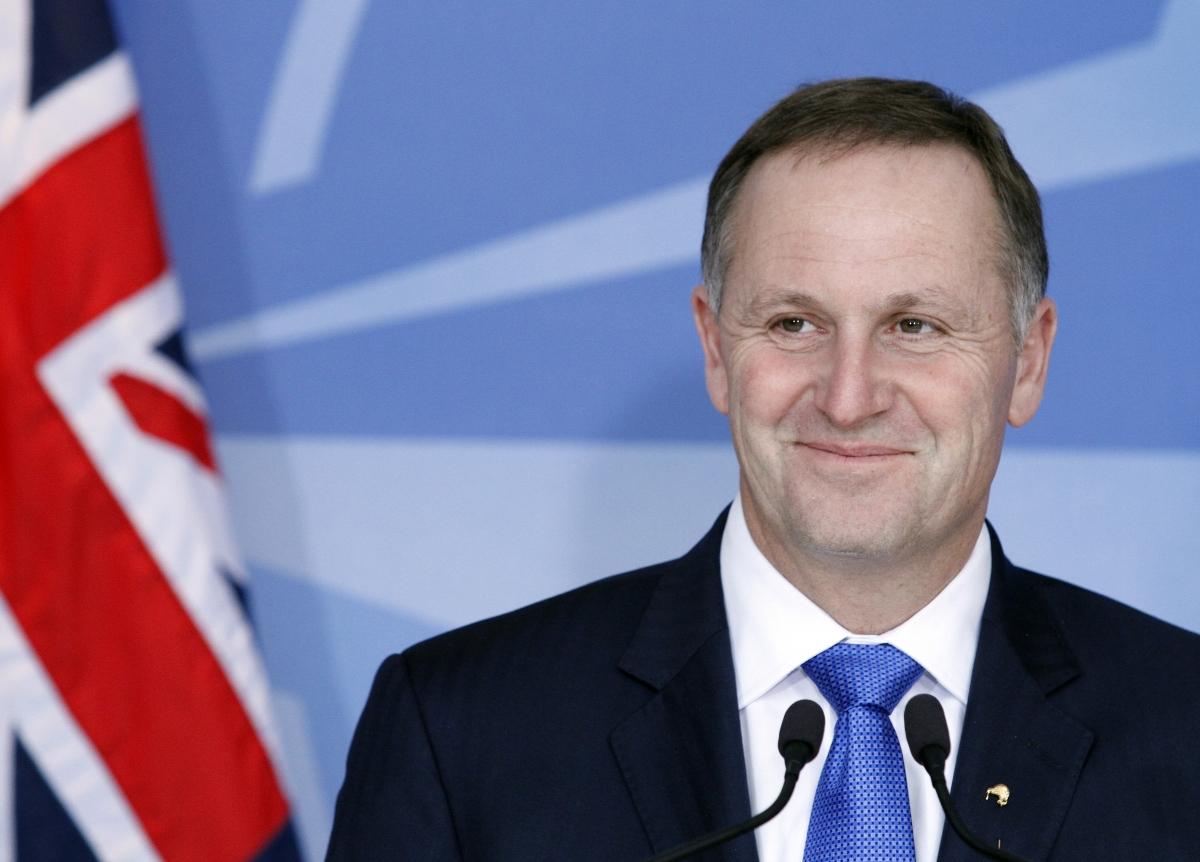 New Zealand PM John Key