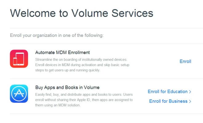 Volume Services