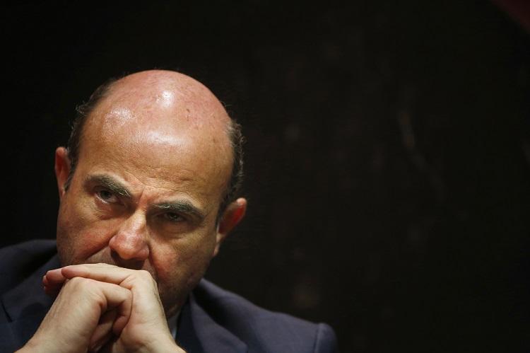 Spain\'s Economy Minister Luis de Guindos