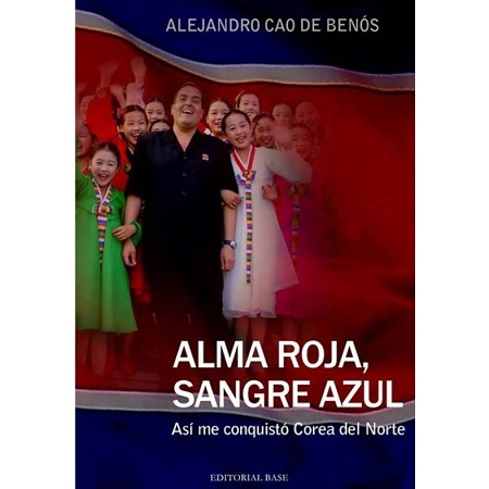 The cover of Senior Alejandro Cao de Benos' book