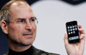 Steve Jobs and the first iPhone