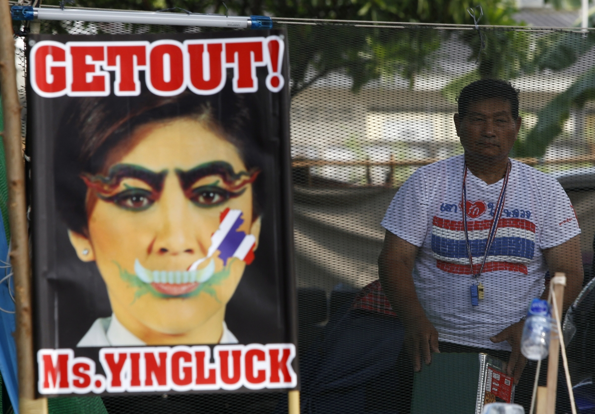 Thailand anti-government protests