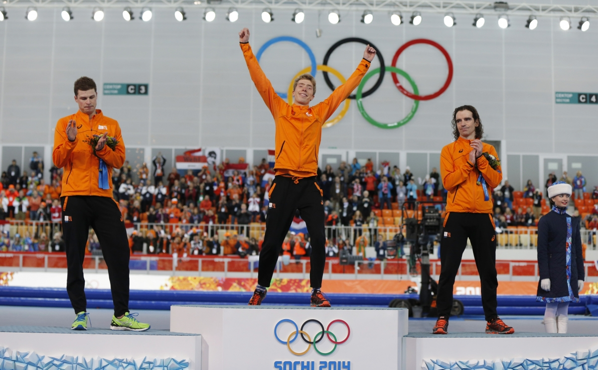 Netherlands' Speed Skaters