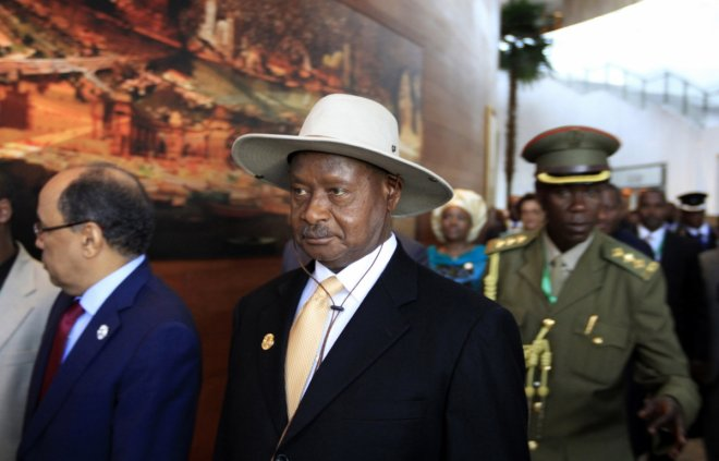 Uganda Museveni anti-gay law