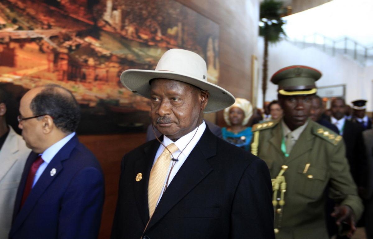 Uganda Museveni anti-gay law