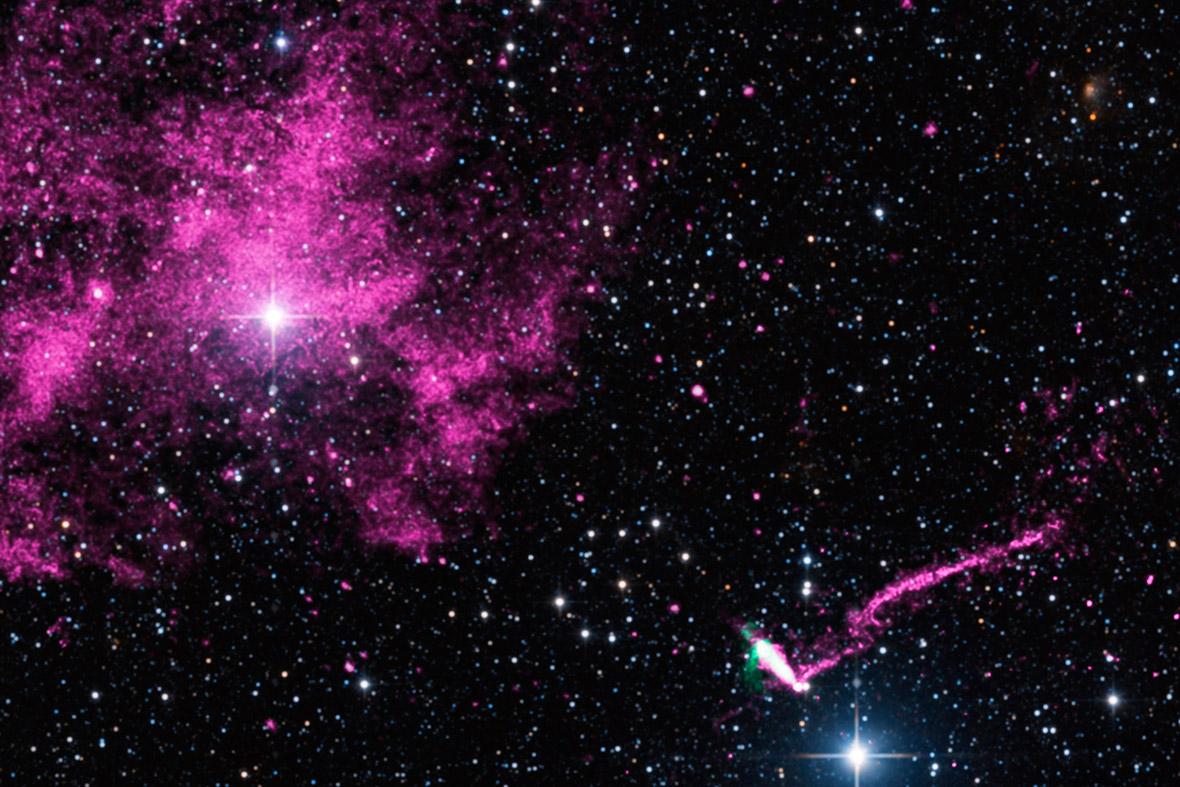 space purple