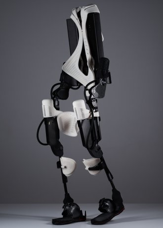 The world's first 3D printed hybrid robotic exoskeleton by 3D Systems and Ekso Bionics