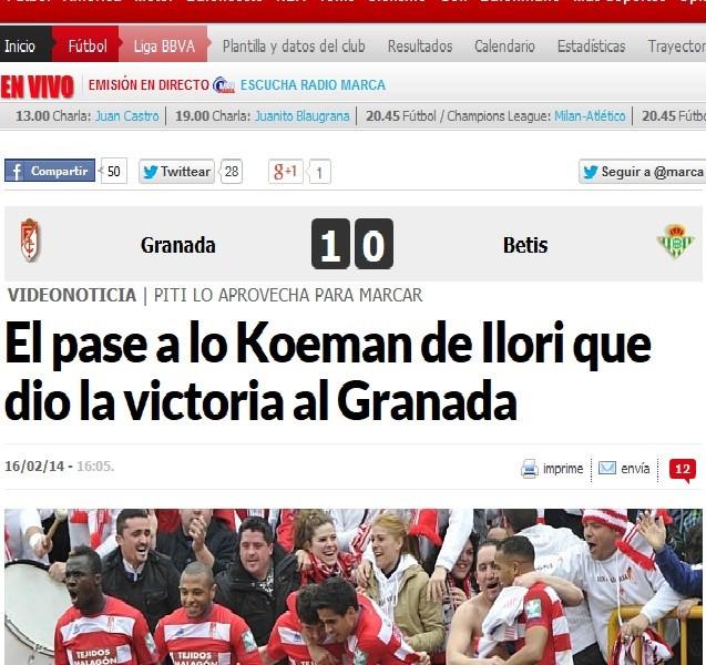 Marca Llori headline